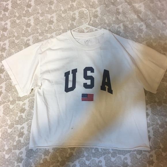 Brandy Melville Tops - BRANDY MELVILLE USA T-shirt